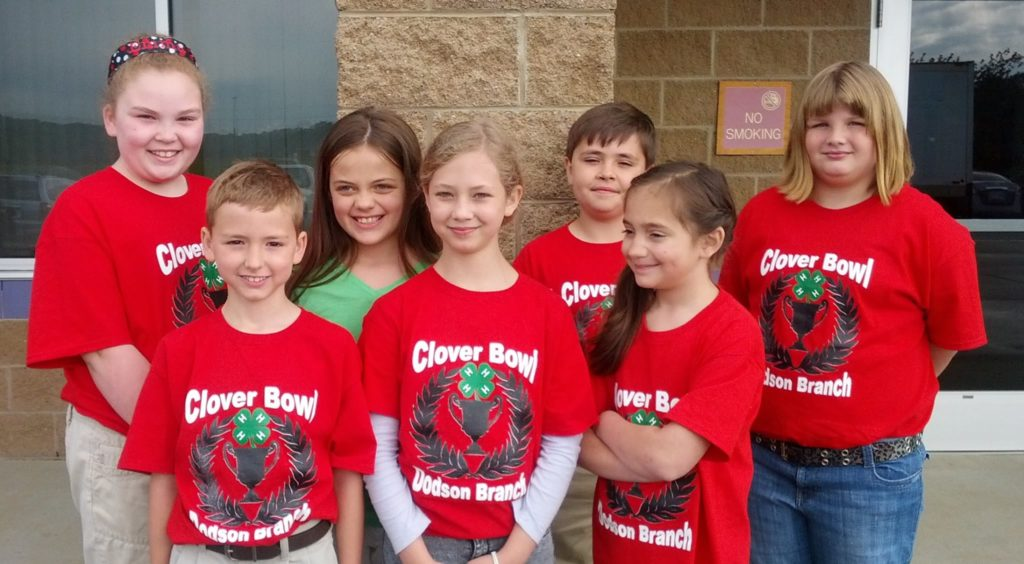 Clover Bowl 4-H sutdents